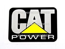 CAT Power Vinyl Decal Sticker Peterbilt Kenworth Mack 4285