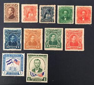 Honduras Stamps, 1893, MNG,sc#87.88,51,5276,77,general Trinidad Cabanas,