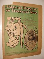 1903 Sadie the Princess of Tenement Row  Bowers Chicago American Newspaper