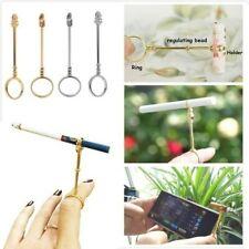 Cigarette Holder Ring Rack Metal Finger Clip Slim Cigarettes Smoking Accessories