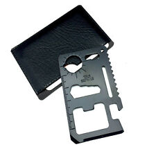 Multi EDC Tools Wallet Pocket Credit Card Knife Outdoor Camping Hiking Gear Kit