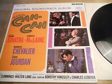 FRANK SINATRA & SHIRLEY MCLAINE CAN -CAN CAPITOL RECORDS UK VINYL LP USED MONO**