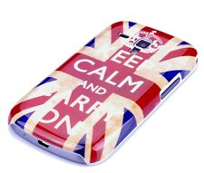 Schutzhülle f Samsung Galaxy S Duos S7562 Cover Case Keep calm England UK GB