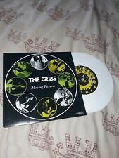 """THE CRIBS Moving Pictures, White Vinyl 7"""" Single, 2007, B-side Another Number"""
