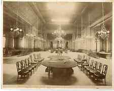 Monaco, Monte Carlo, salle moresque, tables de jeu Vintage albumen print  Tira