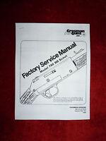 Crosman 788 Factory Service Manual + Exploded View & Parts List. No 0-ring Seals