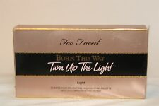 Too Faced Born This Way Turn Up The Light  Highlighting Palette Light USA NEW