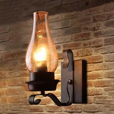 Lâmpada De Parede Vintage Retrô Industrial Loft Ferro Luzes De Parede Arandela Lâmpada Luminária