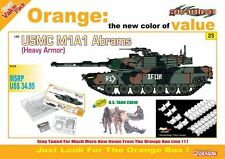 1/35 Cyber Hobby USMC M1A1 Abrams Heavy Armor (Orange Box) #9125