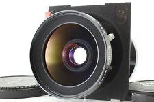 【 Rare! Linhof Mark 】 Schneider Kreuznach Super Angulon 90mm f/5.6 MC from JAPAN