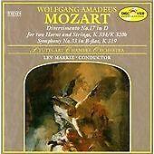 Wolfgang Amadeus Mozart - Mozart: Divertimento No. 17, K 334/320b; Symphony...