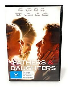 Fathers and Daughters DVD Region 4 Free Postage