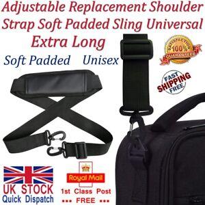 Adjustable Padded Shoulder Bag Strap Belt Laptop Briefcase Handbag Travel Gym