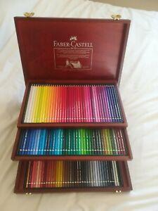 Faber-Castell 120 art Polychromos Coloured pencil set .