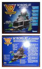 KENNER Saban's VR Troopers Skyborg Jet Chasseur NEW Boxed Vehicle For Action Fig