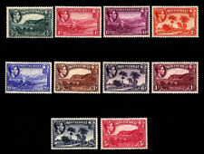 MONTSERRAT - Scott 92a-101a 1938 Definitives - Perf. 13 - MNH