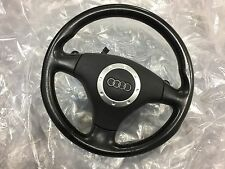 AUDI TT MK1 LEATHER STEERING WHEEL 3.2 MK1 V6 BLACK DSG