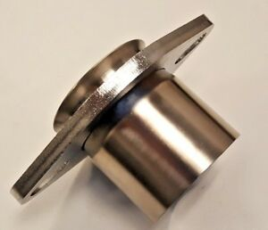 "2.25"" ID Exhaust Fix Repair Oval Socket Flange 2 Bolt Universal Kit 2-1/4"" Inch"