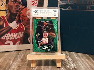 1998 Upper Deck Starquest Green Michael Jordan #SQ30 Beckett 10 MINT Or BETTER!!