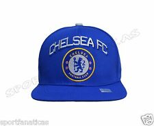 Chelsea Fc  Adjustable Cap Hat soccer - blue - white - new season snapback