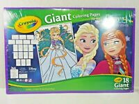 SEALED Crayola, GIANT Frozen Northern Lights, Coloring Pages, Disney