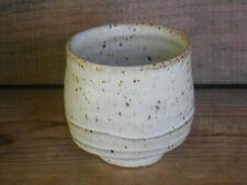 D Bowman pottery cup, yunomi (Warren MacKenzie interest) set or single