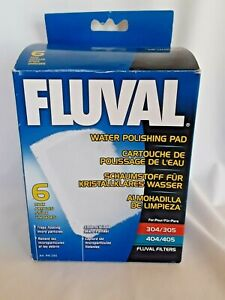 FLUVAL QUICK CLEAR POLISHING PADS 6 PACK 304 305 404 405