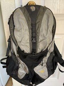Mountain Hardwear Backpack Hiking Camping GRAY Black Size M/L