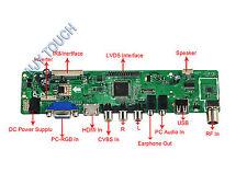 HDMI USB AV VGA ATV PC LVDS LCD LED Controller Driver Board Adapter Programmable