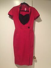 New Womens Pinup Couture Dress Size Large Retail $159! HOT! MUST SEE