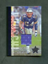 2006 Teddy Bruschi Leaf Rookies & Stars Elements Jersey Patch /100 Patriots