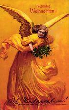 Weihnachten, Engel, Feldpostkarte 1914
