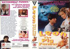 Leon The Pig Farmer, Mark Frankel, VHS Video Promo Sample Sleeve/Cover #8159