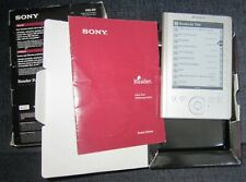 Sony e-Reader Pocket Edition Silver PRS-300 eBook Reader Loaded