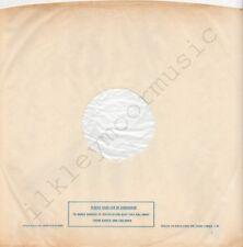 "Vintage INNER SLEEVE or SLEEVES 12"" POLYDOR lined v09 PLASTIC BAGS 15803 ### x 1"