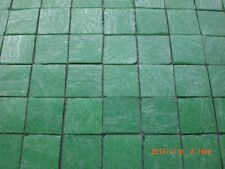 50 Green Coloured Vitreous Glass Mosaic 20 x 20x 4mm Tiles