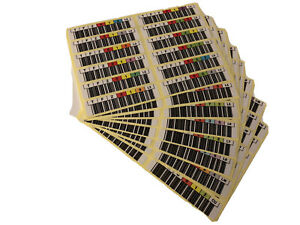 LTO Ultrium TAPE Bar Code LTO 3,LTO 4,LTO 5,LTO 6,LTO 7,LTO 8 Sticker Labels