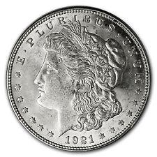 1921-D Morgan Dollar AU - SKU #7193