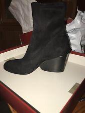 Donald J Pliner Women's Pandra Fashion Boot, Black/Crepe Elastic, Size 7.0