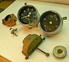21A35 Vintage 60's International Scout gauges, Vent Cables other parts, Mechanic