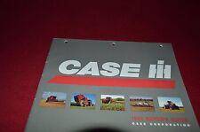 Case International 1995 Buyer's Guide Brochure DCPA