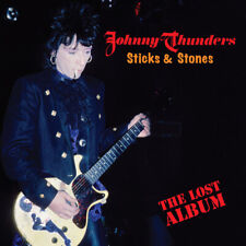 "Johnny Thunders : Sticks & Stones: The Lost Album VINYL 12"" Album Coloured"