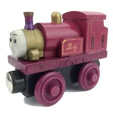 Queen Lady The Tank Engine Wooden Magnet Connet Railway Train Toy Car JSN
