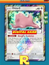 Ditto Prism Star - for Pokemon TCG Online (DIGITAL ptcgo in Game Card)