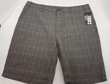 Cor3 Men's Flat Front Plaid Shorts size 38. NEW