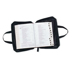 Bible Cover Black Large Print Bible Cover 7.75 x 10 x 3