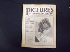 1918 NOVEMBER 2-9 PICTURES AND PICTUREGOER MAGAZINE - DOROTHY GISH - ST 2462