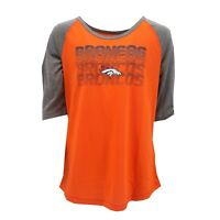 Denver Broncos Official NFL Apparel Kids Youth Girls Size Shirt New with Tags