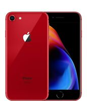 📱Apple iPhone 8 UNLOCKED 64GB  4GB RAM LTE Cellular Water Resistant 📱Matte RED