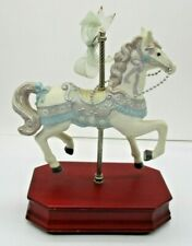"""Carlton Cards Musical Carousel Horse """"Music of the Night"""""""